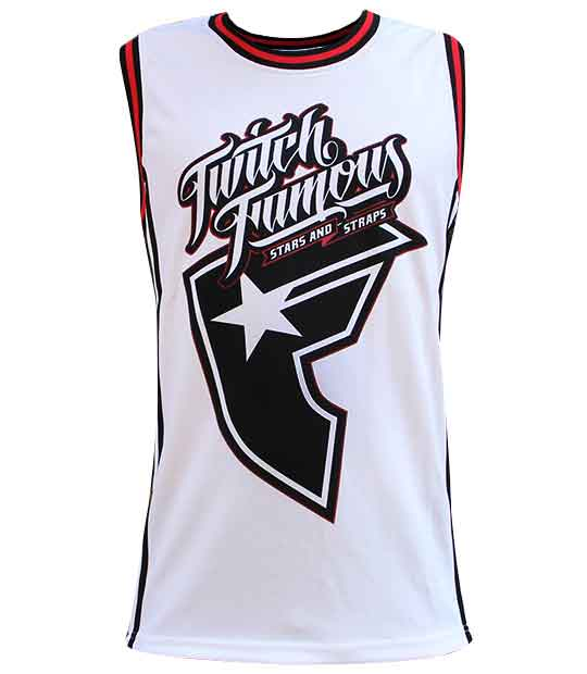 Mens Tank Tops   Everythinghiphop.com,NBAJERSEYS_JPMKUIL594,Famous Stars Straps Combined Men's Basketball Jersey