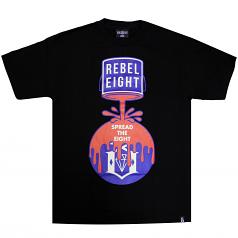 REBEL8 Cover The 8 Tee Men's T-Shirt Black