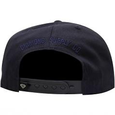 Diamond Supply Co Un Polo Snapback Navy
