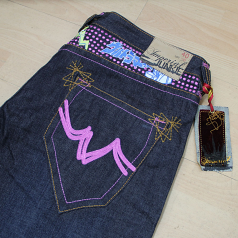 Imperial Junkie Ultra Punkadots Japanese Selvedge Jeans