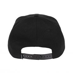 LDN Snapback Cap Black White