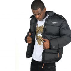 Crooks & Castles New Core Puffer Jacket Black