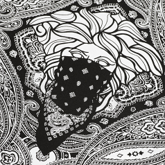 Crooks & Castles Bandito Paisley All Over Print Tee Black