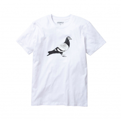Staple Pigeon Metallic Pigeon T-Shirt White