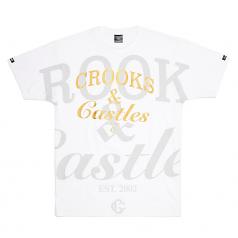 Crooks & Castles Timeless OVS Tee White