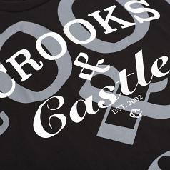 Crooks & Castles Timeless OVS Tee Black