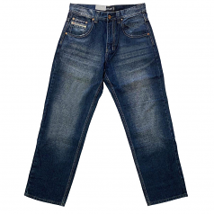 Royal Blue 8207 Men's Relaxed Fit Denim Jeans Blue Ink