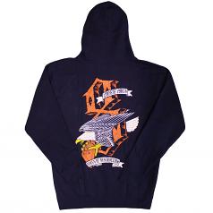 REBEL8 Dukes of Destruction Men's Zip Hood Navy